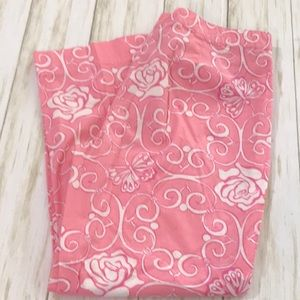 Lilly Pulitzer Pink Breast Cancer Butterfly Roses